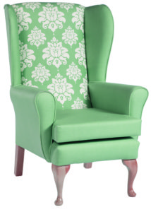 Bronte Elegant Queen Anne Chair BRON001 Image