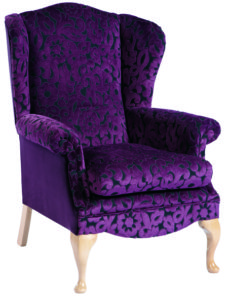 Charlotte Queen Anne Chair CHAR001 Image