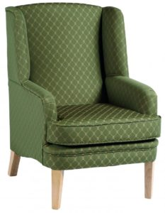 Lockwood Wing Back Chair LOCK001 Image