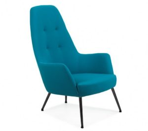 Heskey Lounge High Back Chair HESK005 Image
