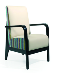 Slotten Low Back Chair SLOT001 Image