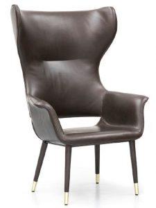 Baxter High Back Lounge Chair BAXT001 Image