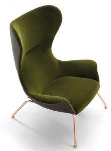 Kelsey High Back Lounge Chair KELS002 Image