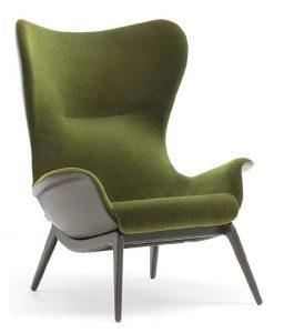 Kelsey High Back Lounge Chair KELS001 Image