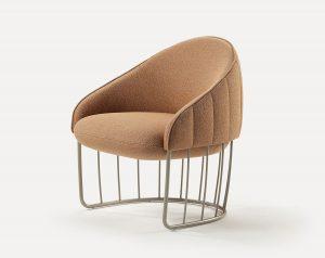 Milan Lounge Chair MILA001 Image